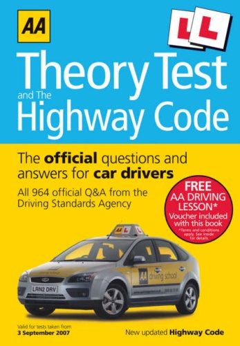 AA Theory Test and the Highway Code By AA Publishing