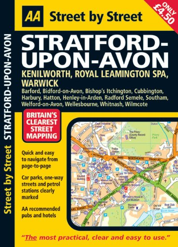 Stratford-upon-Avon By AA Publishing