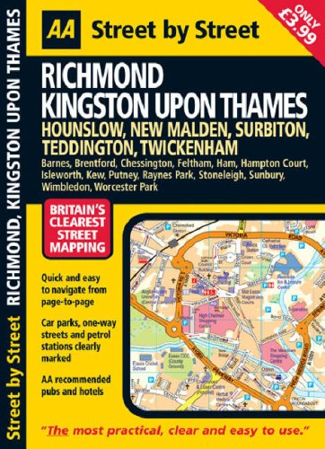 Richmond, Kingston Upon Thames By AA Publishing