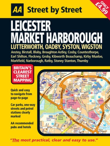 Leicester, Market Harborough By AA Publishing