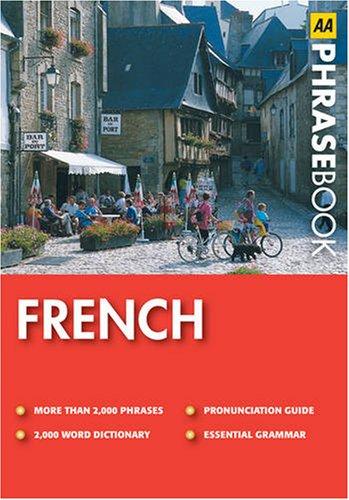 French (AA Phrase Book Series) By Wina Gunn
