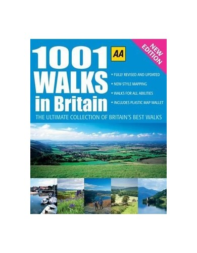 AA 1001 WALKS IN BRITAIN - The Ultimate Collection of Britain's Best Walks - New Edition. By paul buttle