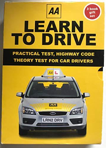 AA Learn to Drive 3 Book Giftset