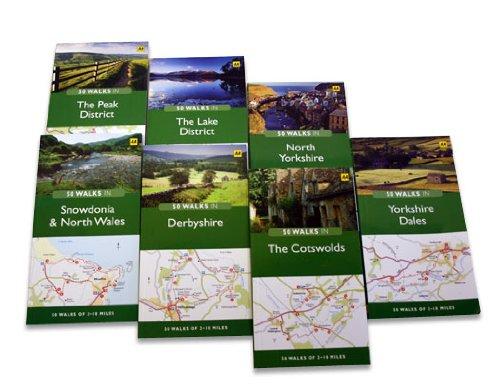 Peak District, the By AA 50 Walks Series
