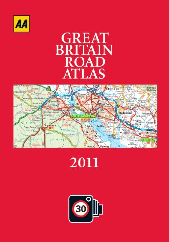 AA Great Britain Road Atlas By Created by AA Publishing