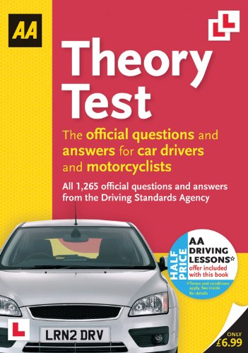 Driving Test Theory (AA Driving Test) By AA Publishing