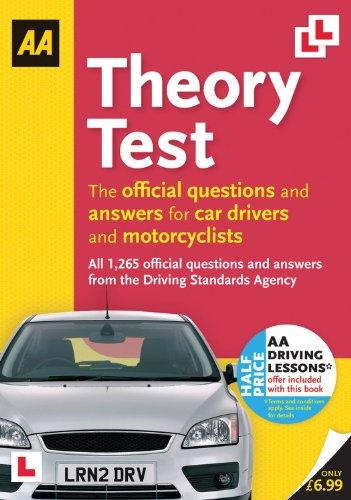 AA Theory Test by AA Publishing
