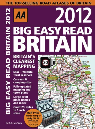 AA Big Easy Read Britain By AA Publishing