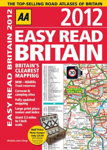 AA Easy Read Britain By AA Publishing