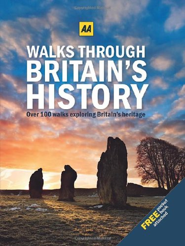 Walks Through Britain's History (with Free Pocket Edition) By AA Publishing