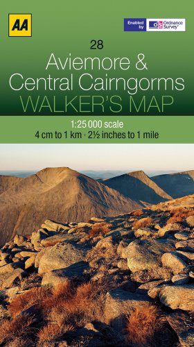Aviemore and Central Cairngorms By AA Publishing