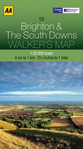 Brighton and The South Downs By AA Publishing