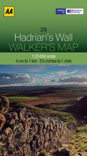 Hadrian's Wall By AA Publishing