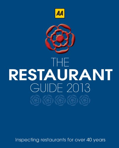 AA Restaurant Guide By AA Publishing