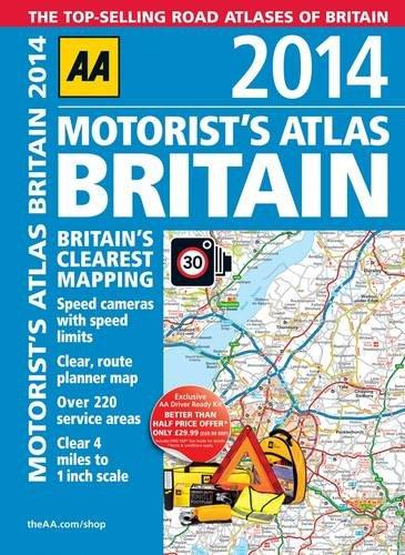 AA Motorist's Atlas Britain By AA Publishing