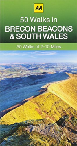 50 Walks in Brecon Beacons & South Wales by AA Publishing