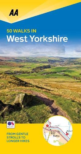 50 Walks in West Yorkshire By AA Publishing