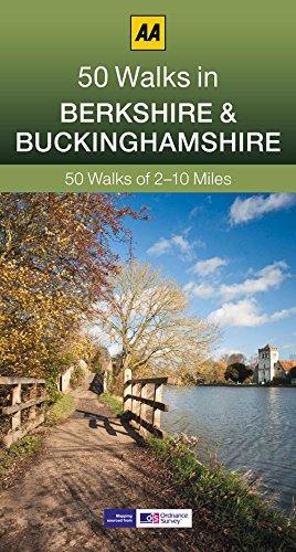50 Walks in Berkshire & Buckinghamshire By AA Publishing