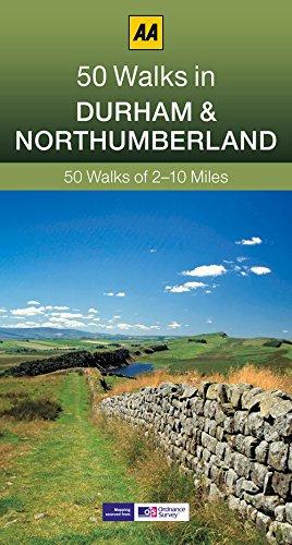 50 Walks in Durham & Northumberland By John Gillham
