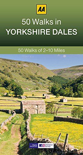50 Walks in Yorkshire Dales By AA Publishing