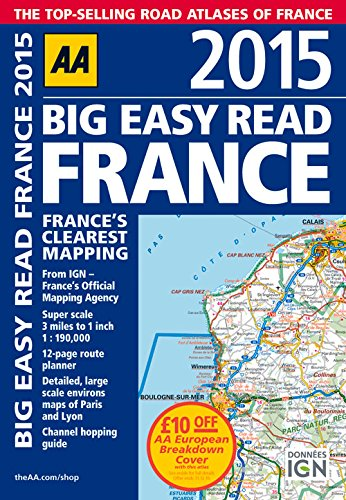 Big Easy Read France 2015 By AA Publishing