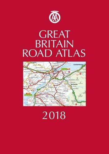 AA Great Britain Road Atlas By AA Publishing