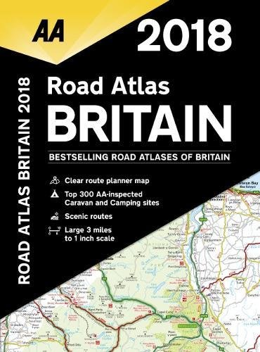 AA Road Atlas Britain By AA Publishing