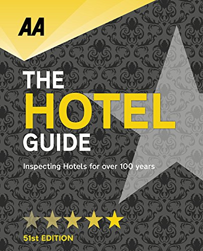 AA Hotel Guide By AA Publishing