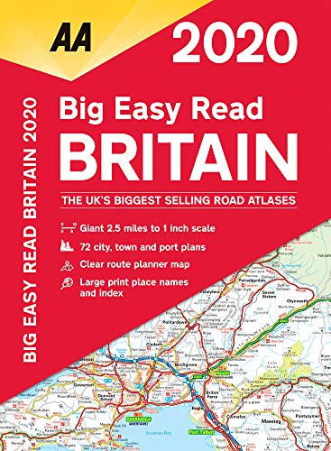 AA Big Easy Read Britain 2020 By AA Publishing