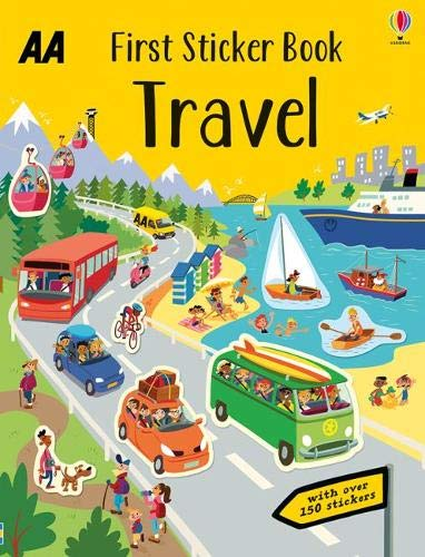 First Sticker Book Travel By AA Publishing