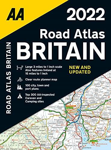 Road Atlas Great Britain 2022