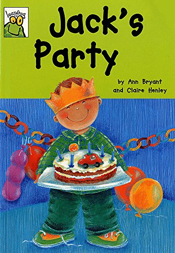 Leapfrog: Jack's Party By Ann Bryant