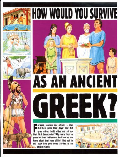 How Would You Survive: Greek By Fiona Macdonald