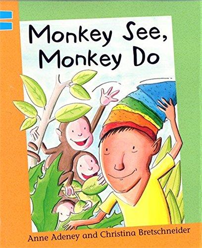Reading Corner: Monkey See, Monkey Do By Anne Adeney