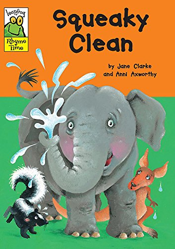 Leapfrog Rhyme Time: Squeaky Clean By Jane Clarke