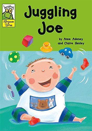 Leapfrog Rhyme Time: Juggling Joe By Anne Adeney