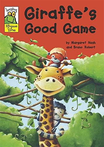 Leapfrog Rhyme Time: Giraffe's Good Game By Margaret Nash