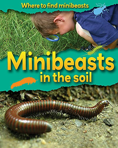 Where to Find Minibeasts: Minibeasts In the Soil By Sarah Ridley