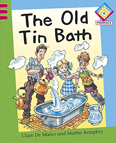 The Old Tin Bath By Clare De Marco