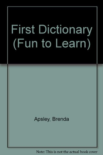 First Dictionary By Brenda Apsley