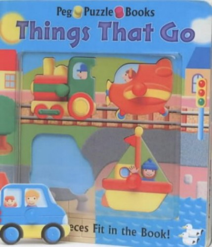 Things That Go: Peg Puzzle Books by Unknown Author