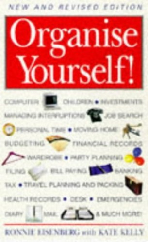 Organise Yourself By Ronni Eisenberg