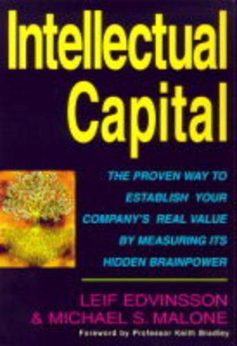 Intellectual Capital By Michael S. Malone