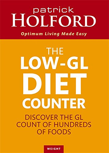 The Low-GL Diet Counter By Patrick Holford
