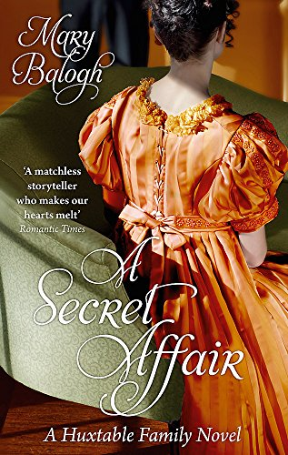 A Secret Affair: Number 5 in series (Huxtables) By Mary Balogh