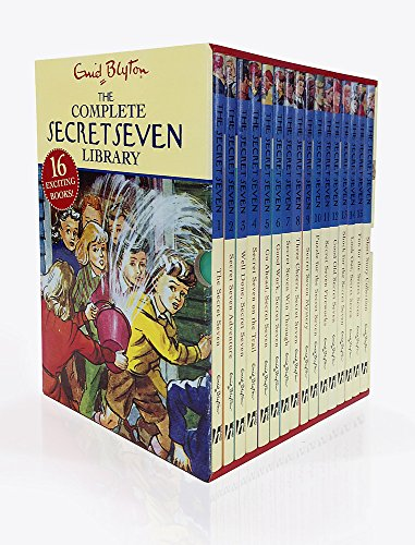 Secret Seven Complete Library 16c Slipcase (Classic 1-15 + Short Story Collection) By Enid Blyton