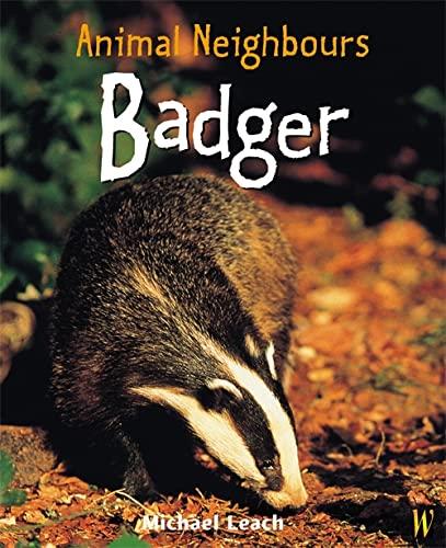 British Animals: Badger By Michael Leach