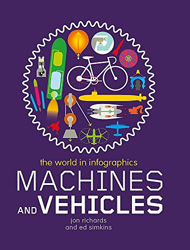 Machines and Vehicles (The World in Infographics) By Jon Richards