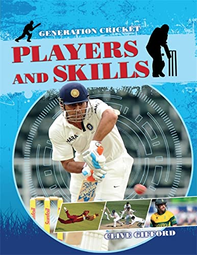 Generation Cricket: Players and Skills by Gifford, Clive Book The Cheap Fast