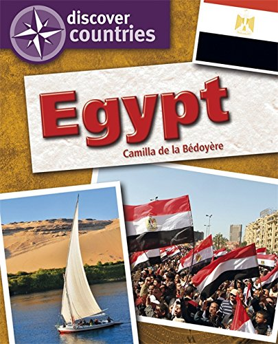 Discover Countries: Egypt By Camilla De la Bedoyere